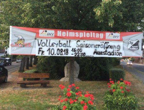 Volleyballsparte feiert Saisoneröffnungsparty