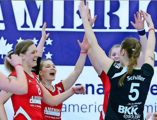 Fehlerfrei ins Heimdebüt    –    Aligses Frauen bestreiten erstes Volleyball-Heimspiel in der 2. Liga