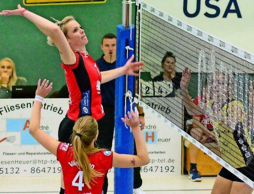 Die Routine fehlt noch  –  Aligser Volleyballerinnen verlieren nach fünf Sätzen