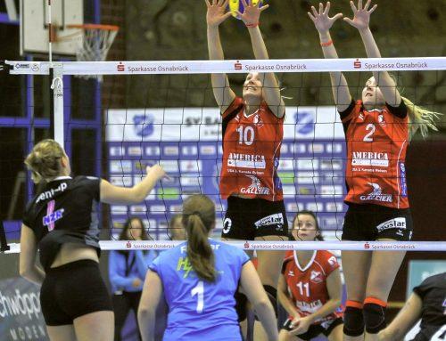 Mit heißem Herz und kühlem Kopf im Spiel  –  Aligses Volleyball-Damen wollen den ersten Heimsieg dieser Saison feiern