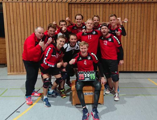 3:0 auswärts in Verden – 2. Volleyballherren gibt sich keine Blöße