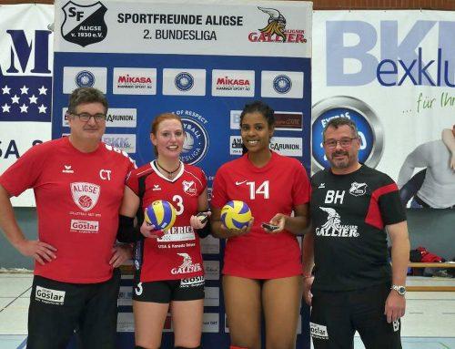 Aligser Frauen sammeln wichtige Punkte – Der zweite Volleyball-Heimsieg soll folgen