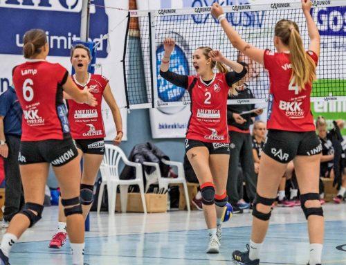 Der Trend geht zum Happy End: Aligser Volleyballerinnen punkten nun auch in der 2. Bundesliga