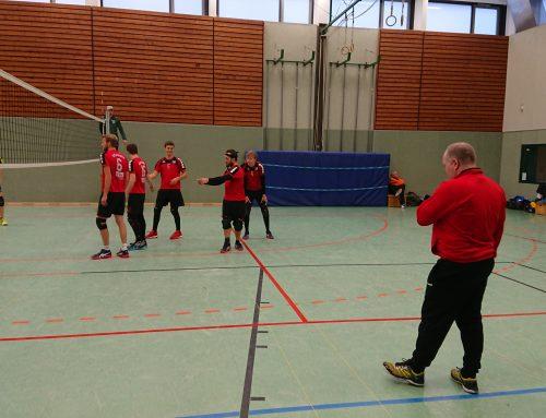 3:2 gewonnen – Walsrode wehrt sich gegen 2. Volleyballherren
