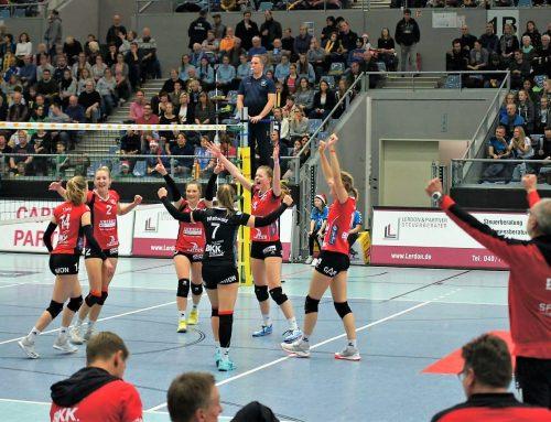 """""""Mit Vollgas in die Rückrunde!"""" SF Aligses Volleyballerinnen starten am Samstag zur Aufholjagd, freier Eintritt für Fangruppen im gleichen Trikot"""