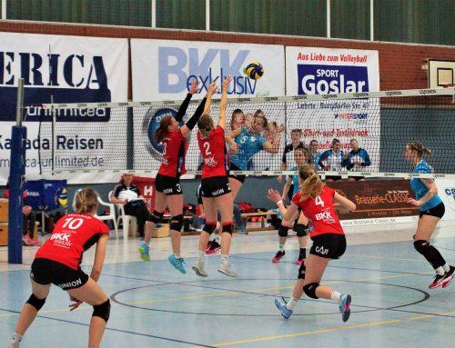 Auf der Jagd nach den fehlenden Punkten – Doppeltes Volleyballvergnügen am Samstag, 9. Februar