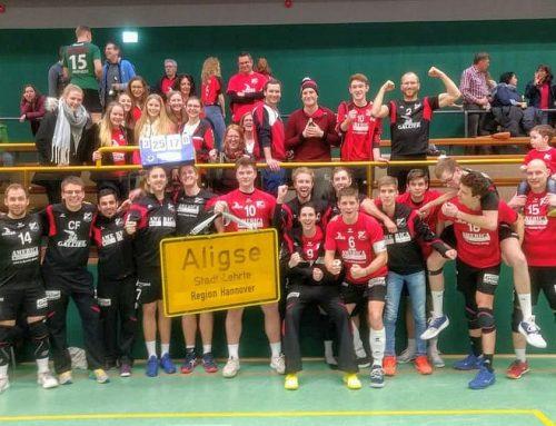 SFA-Volleyballer jetzt auch rechnerisch sicher      /      Letztes Heimspiel der Saison steht an