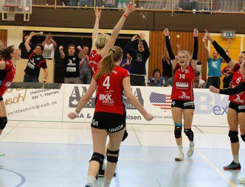 Aligse erzwingt Abstiegsfinale: Volleyball-Zweitligist feiert Doppelerfolg. – Männer auf Rang sieben.
