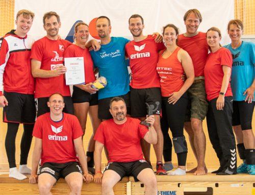 Mixed Volleyballer gewinnen Verbandsmeisterschaften