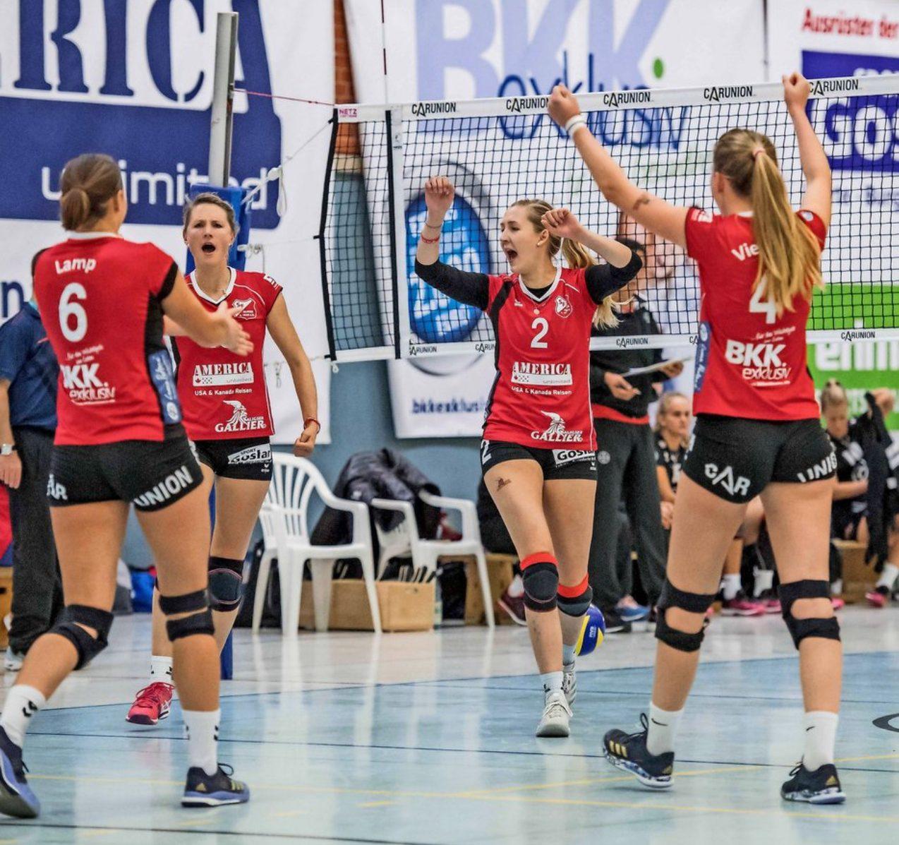 Aligses Frauen verkaufen sich gut – Aber 0:3-Niederlage gegen Leverkusen. Volleyball-Herren siegen in der dritten Liga.