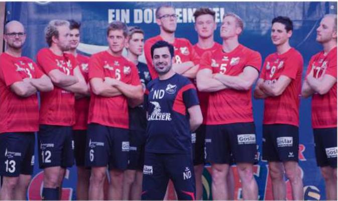 """""""Noori für Alle – Alle für Noori""""  –  SFA-Volleyballer können sich auf ihren """"Ballroller"""" verlassen"""