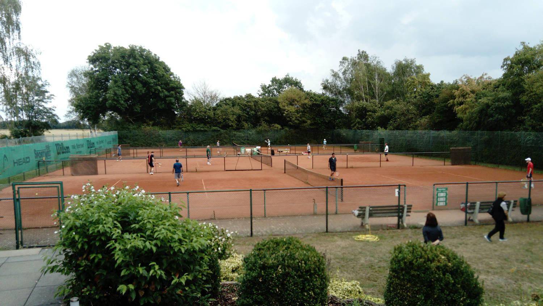 Tennisvereinsmeisterschaft im Damen und Herren Einzel