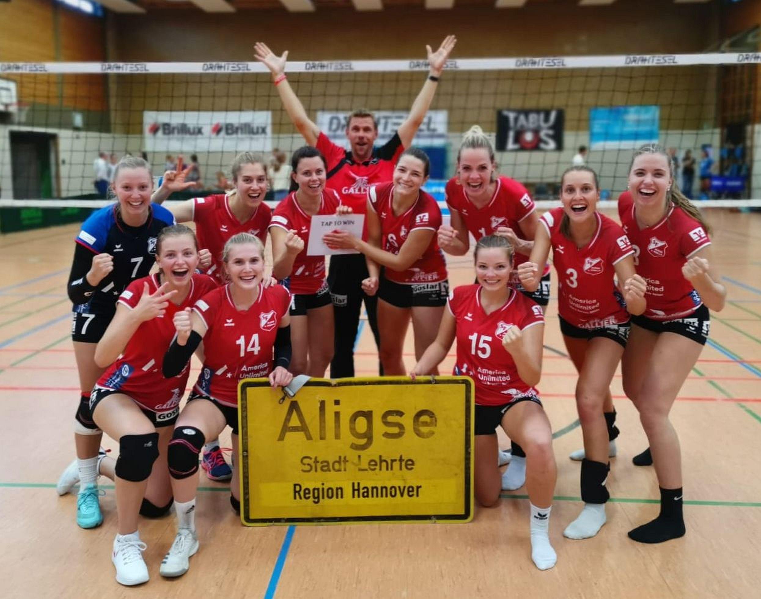 Aligser Volleyballteams in der Erfolgsspur – Damen empfangen am Sonntag TV Eiche Horn Bremen zum Heimspiel