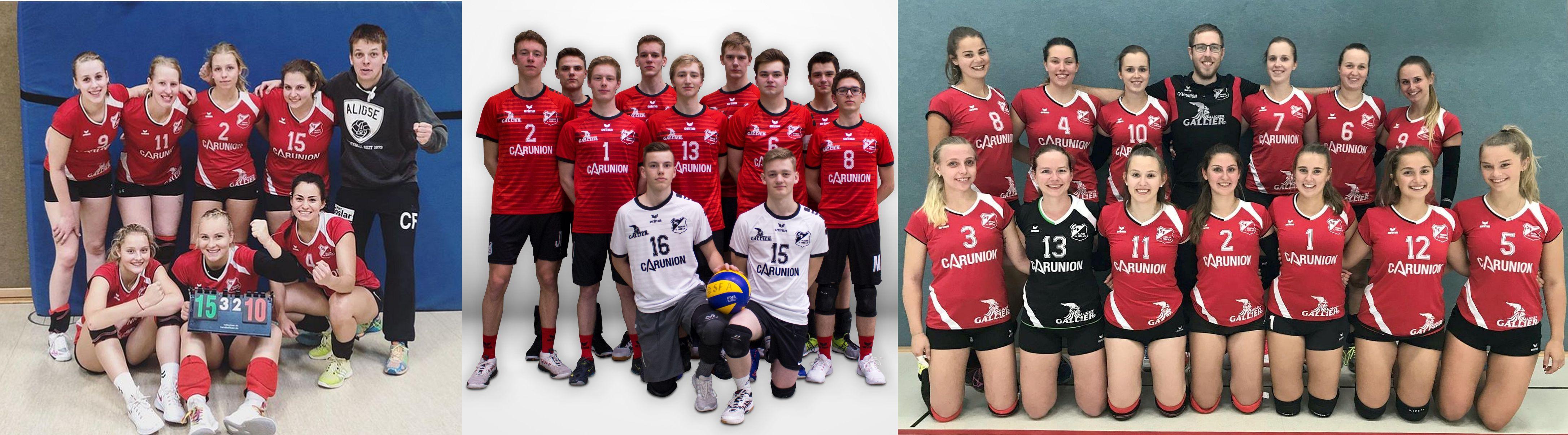 Aligser Vollyball-Teams laden ein – Dreifache Heimspiele in der Sporthalle Schlesischen Straße