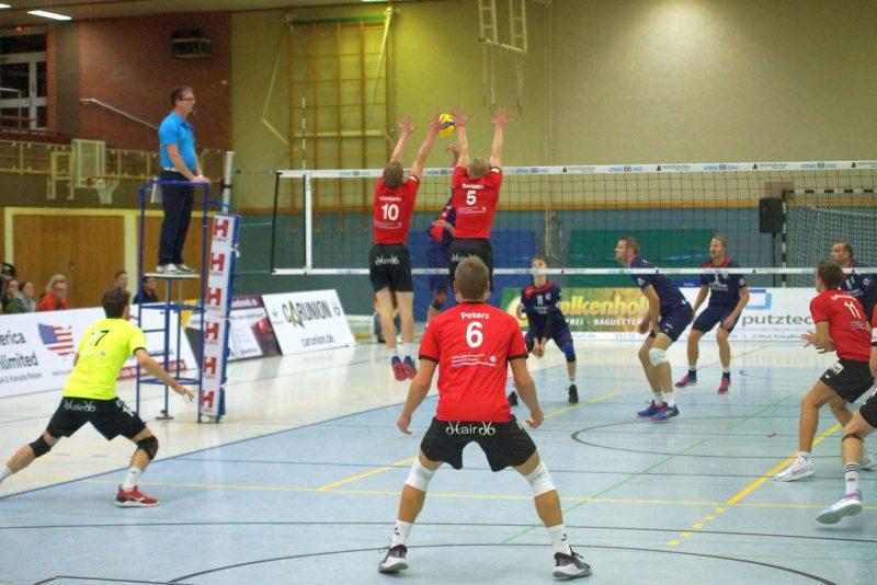 Moritz Viemann und Steffen Barklage im Block - Foto von Börge Albers