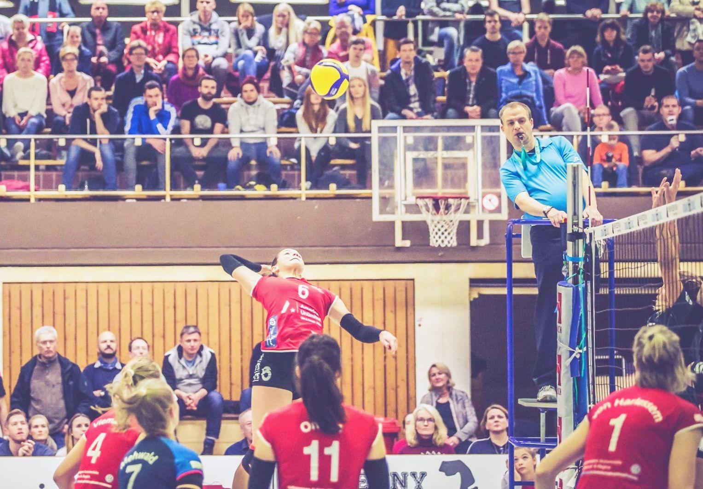 Kontakt zur Spitzengruppe bleibt – SFA Volleyball: Niederlagen sind abgehakt