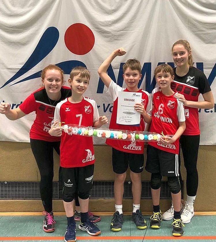 Volleyball: U12-Jungen bei Nordwestdeutschen Meisterschaften