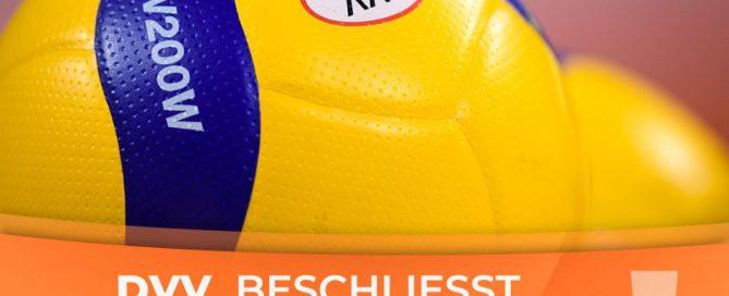 Absage Volleyball-Spielbetrieb