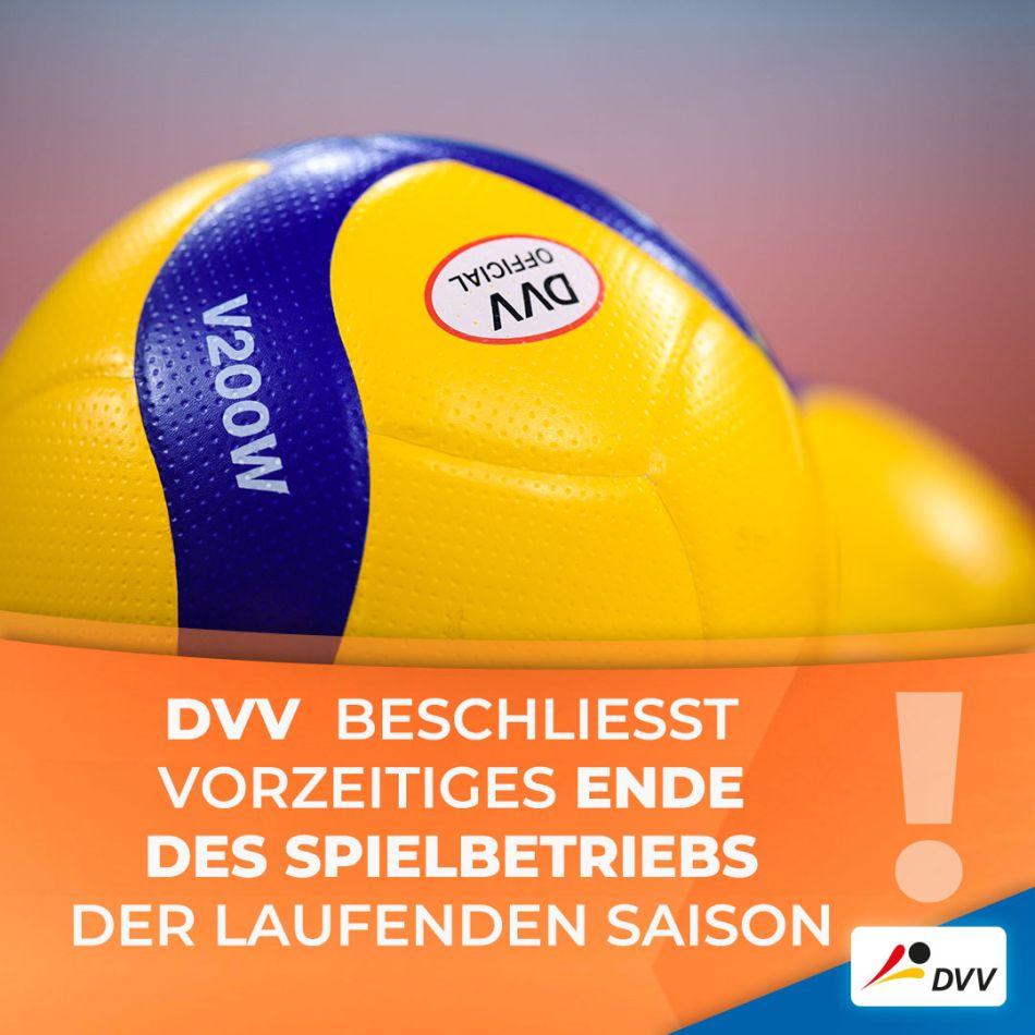 12.03.2020 – Eilmeldung! Volleyball-Spielbetrieb aller Ligen wegen Coronavirus eingestellt!
