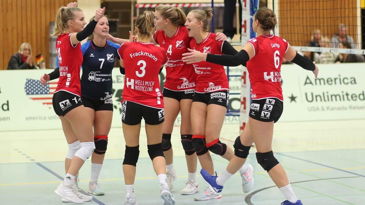 """Das Wörtchen """"leider"""" – 3. Liga West: Die beiden Volleyball-Teams der SF Aligse kämpfen jeweils gegen Köln über fünf Sätze"""