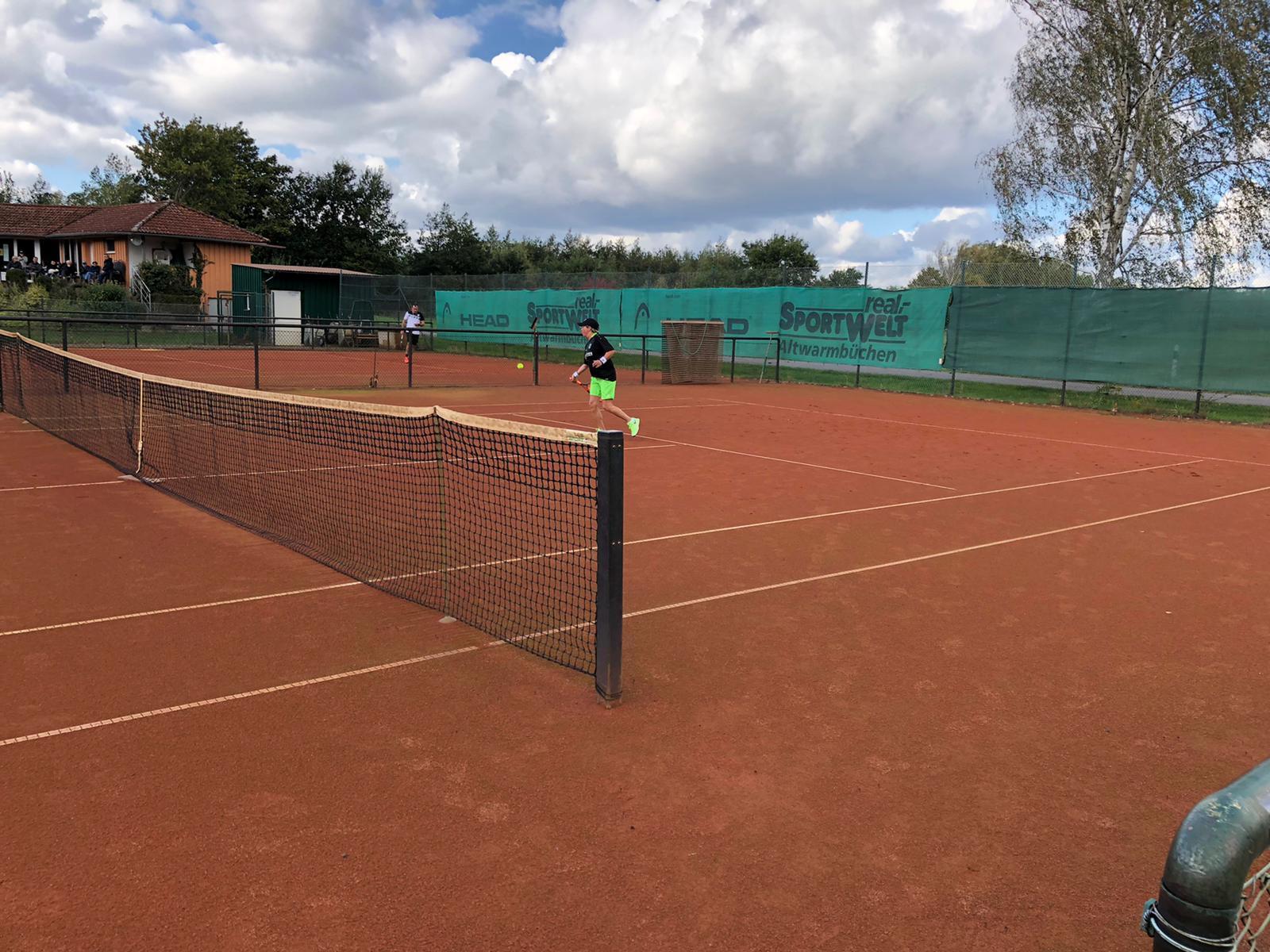 Petra Werny und Steffen Ahlborn Tennis Vereinsmeister 2020