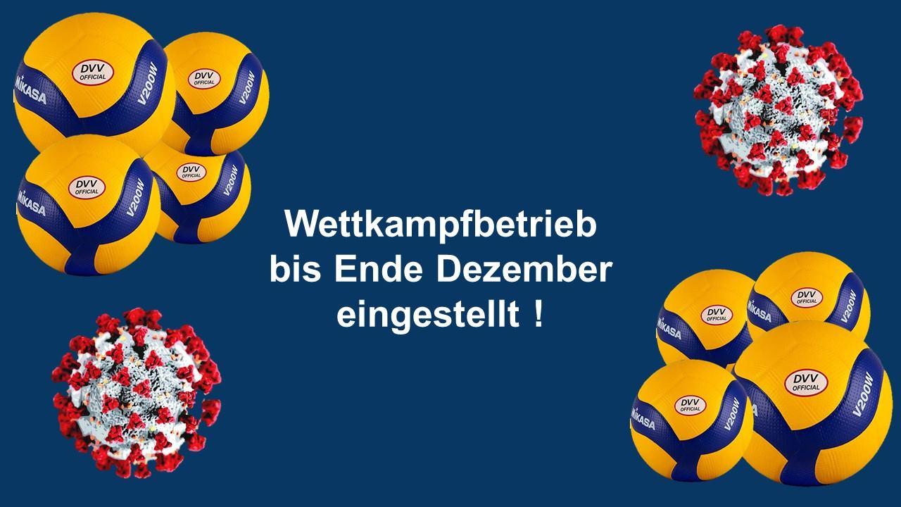 Niedersachsens Volleyballer gehen in die Pause (mit Update vom 28.11.2020)