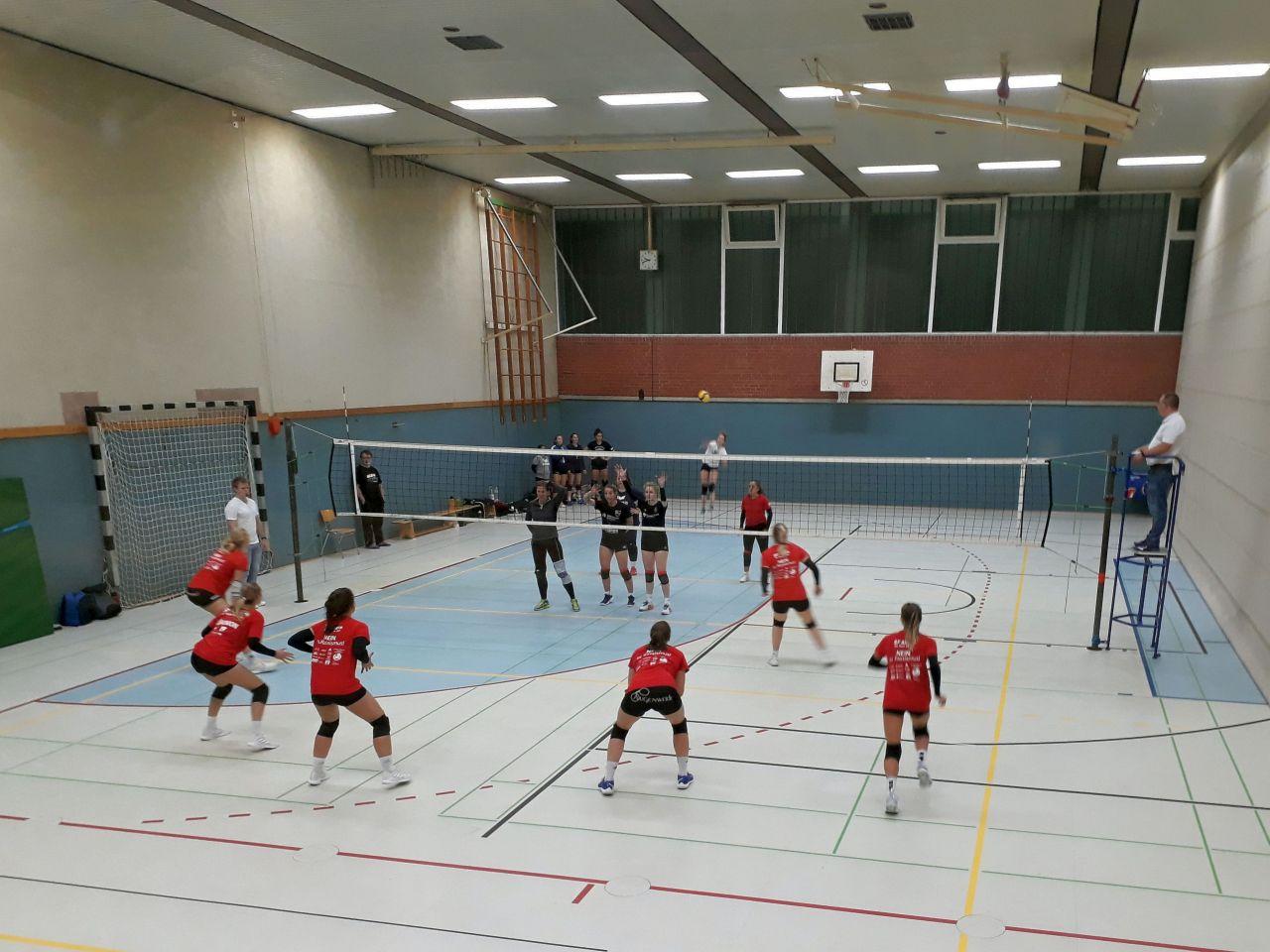 Volleyball: Aligserinnen steigern die Intensität – Herren testen in Delbrück und in Bielefeld